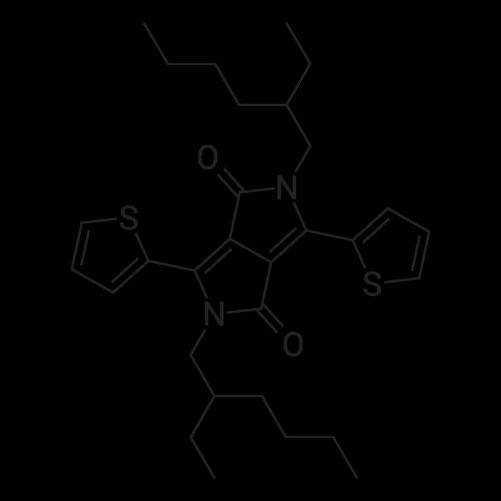 2,5-Bis(2-ethylhexyl)-3,6-di(thiophen-2-yl)pyrrolo[3,4-c]pyrrole-1,4(2H,5H)-dione