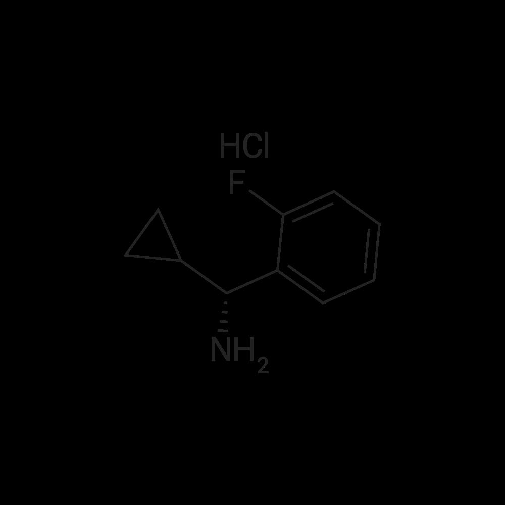 (R)-Cyclopropyl(2-fluorophenyl)methanamine hydrochloride