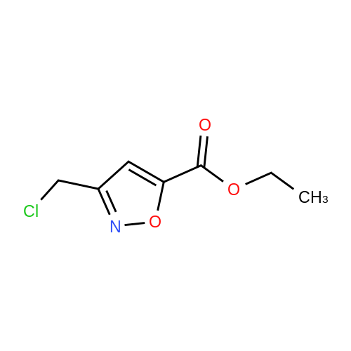 Ethyl 3-(chloromethyl)isoxazole-5-carboxylate