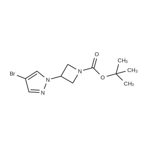 tert-Butyl 3-(4-bromo-1H-pyrazol-1-yl)azetidine-1-carboxylate