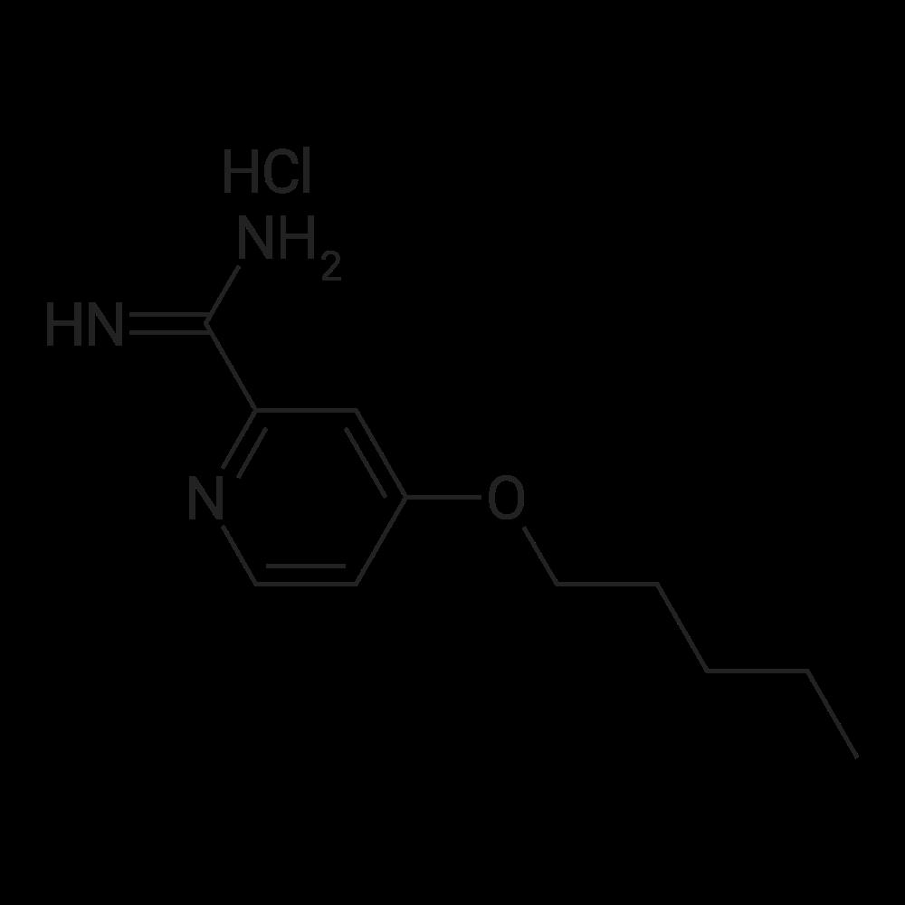 4-(Pentyloxy)picolinimidamide hydrochloride