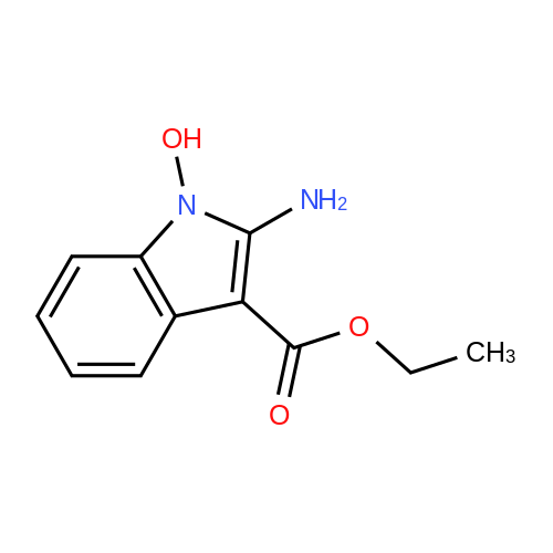 Ethyl 2-amino-1-hydroxy-1H-indole-3-carboxylate