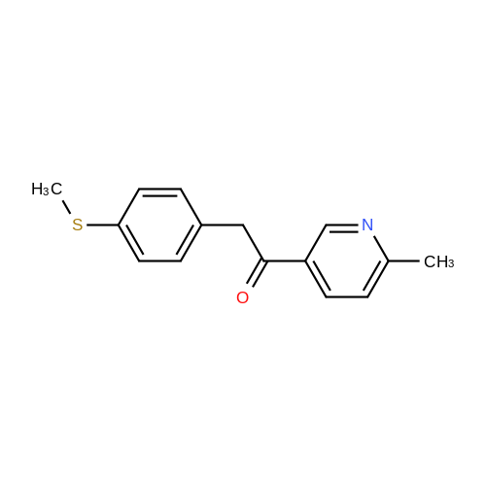 1-(6-Methylpyridin-3-yl)-2-(4-(methylthio)phenyl)ethanone