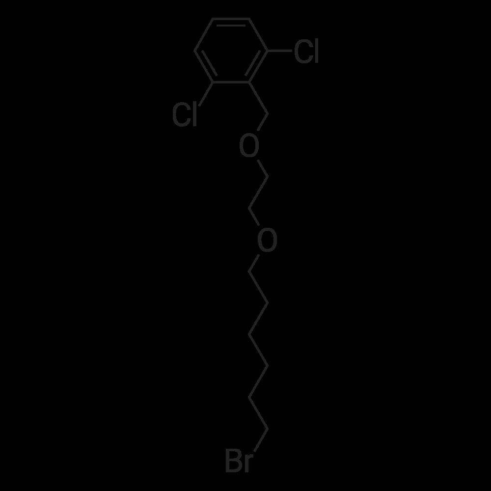 2-((2-((6-Bromohexyl)oxy)ethoxy)methyl)-1,3-dichlorobenzene