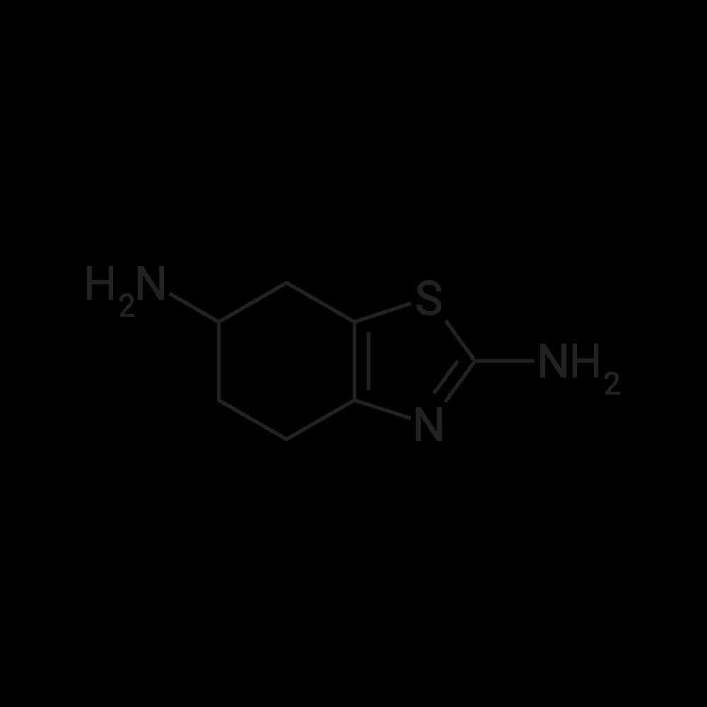 4,5,6,7-Tetrahydrobenzo[d]thiazole-2,6-diamine