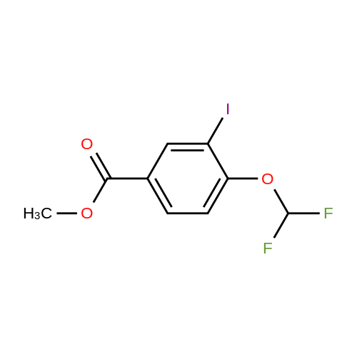 Methyl 4-(difluoromethoxy)-3-iodobenzoate