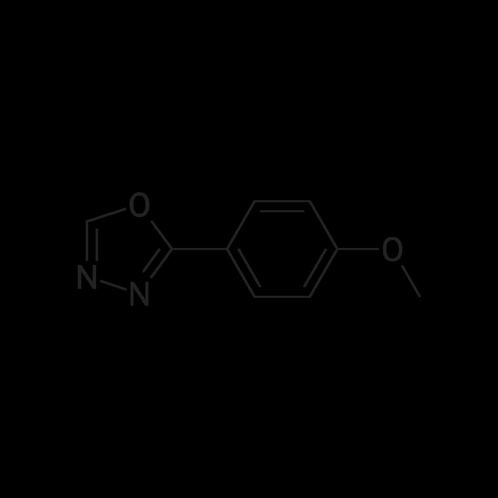 2-(4-methoxyphenyl)-1,3,4-oxadiazole