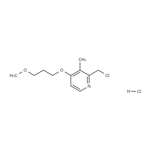 2-(Chloromethyl)-4-(3-methoxypropoxy)-3-methylpyridine hydrochloride