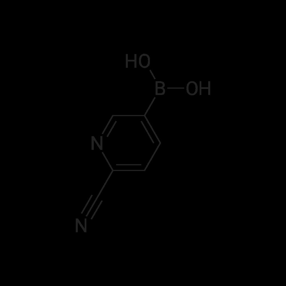 (6-Cyanopyridin-3-yl)boronic acid