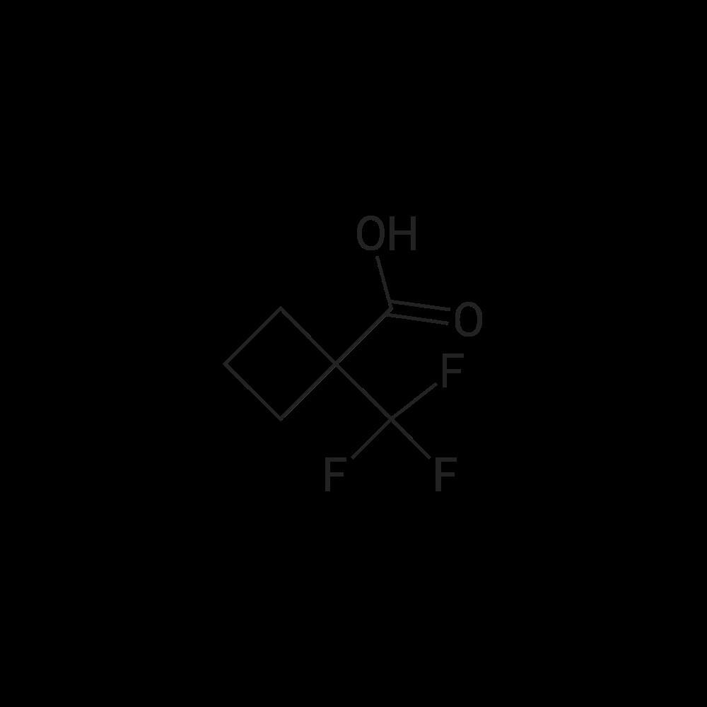 1-(Trifluoromethyl)cyclobutanecarboxylic acid