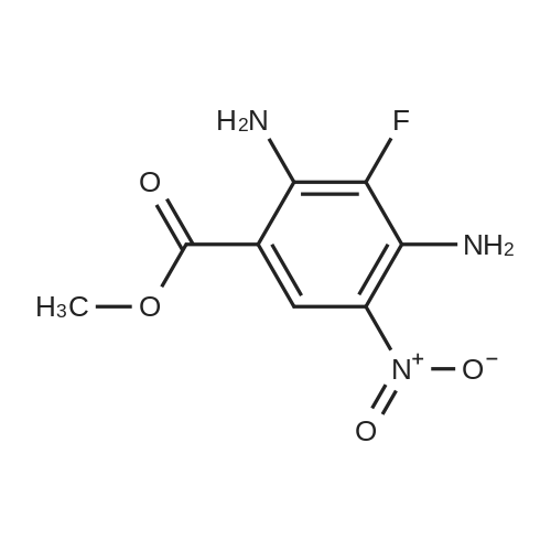 Methyl 2,4-diamino-3-fluoro-5-nitrobenzoate