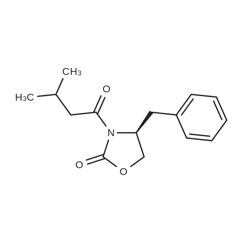 (S)-4-Benzyl-3-(3-methylbutanoyl)oxazolidin-2-one