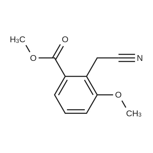 Methyl 2-(cyanomethyl)-3-methoxybenzoate