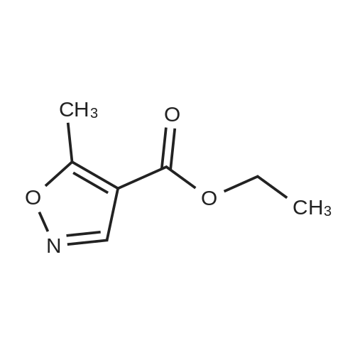 Ethyl 5-methylisoxazole-4-carboxylate