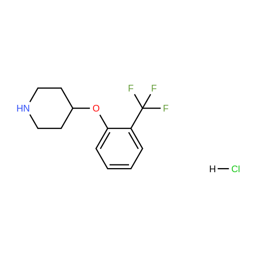 4-(2-(Trifluoromethyl)phenoxy)piperidine hydrochloride