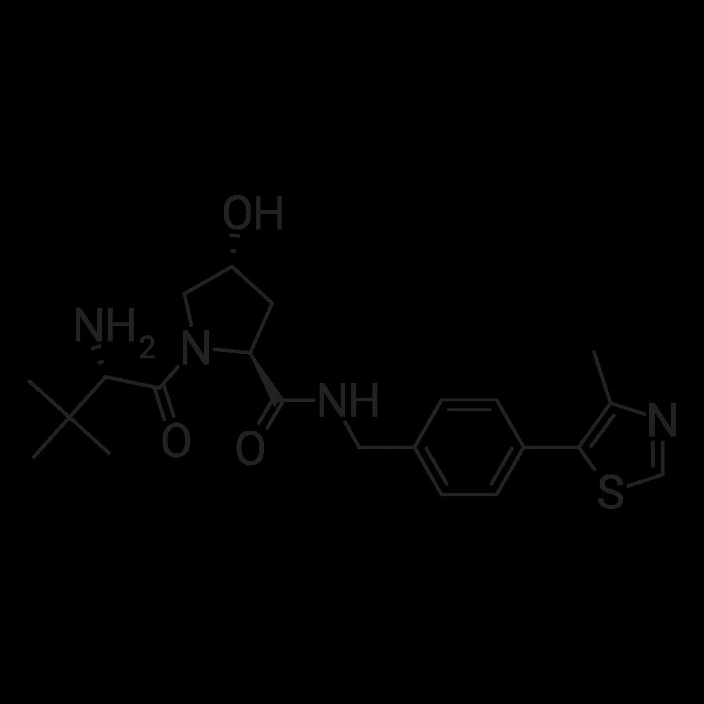 (2S,4R)-1-((S)-2-Amino-3,3-dimethylbutanoyl)-4-hydroxy-N-(4-(4-methylthiazol-5-yl)benzyl)pyrrolidine-2-carboxamide