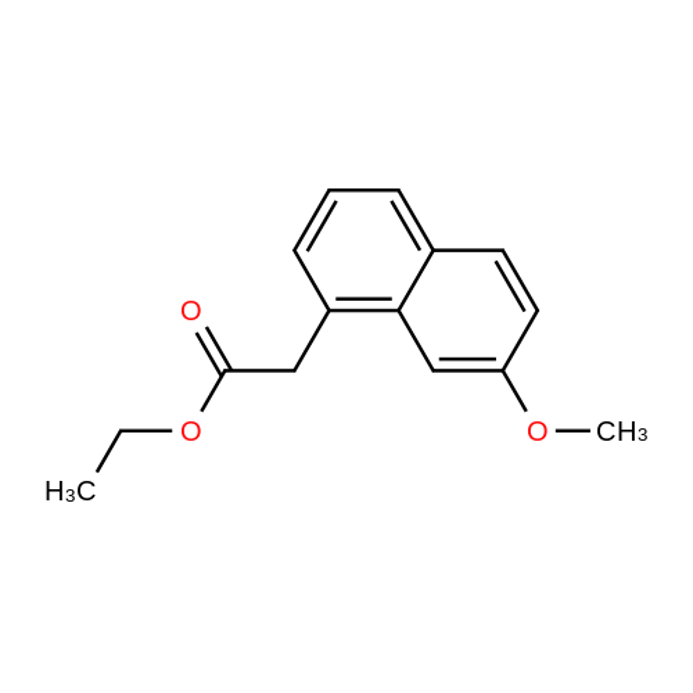 Ethyl 2-(7-methoxynaphthalen-1-yl)acetate