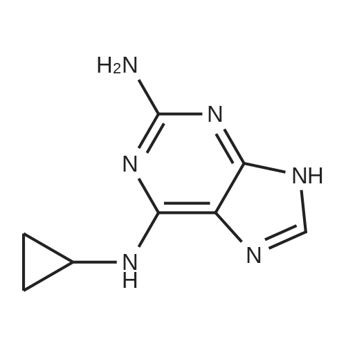 N6-Cyclopropyl-9H-purine-2,6-diamine