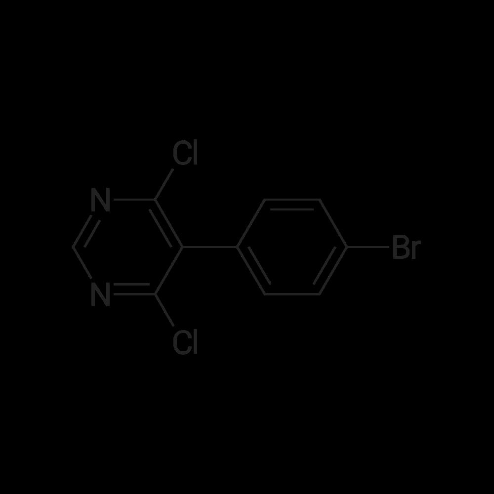 5-(4-Bromophenyl)-4,6-dichloropyrimidine