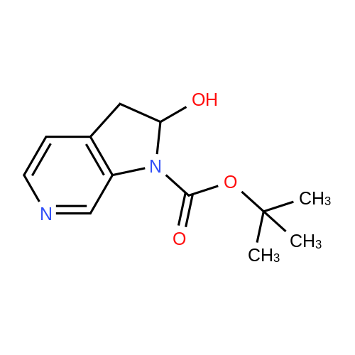 tert-Butyl 2-hydroxy-2,3-dihydro-1H-pyrrolo[2,3-c]pyridine-1-carboxylate
