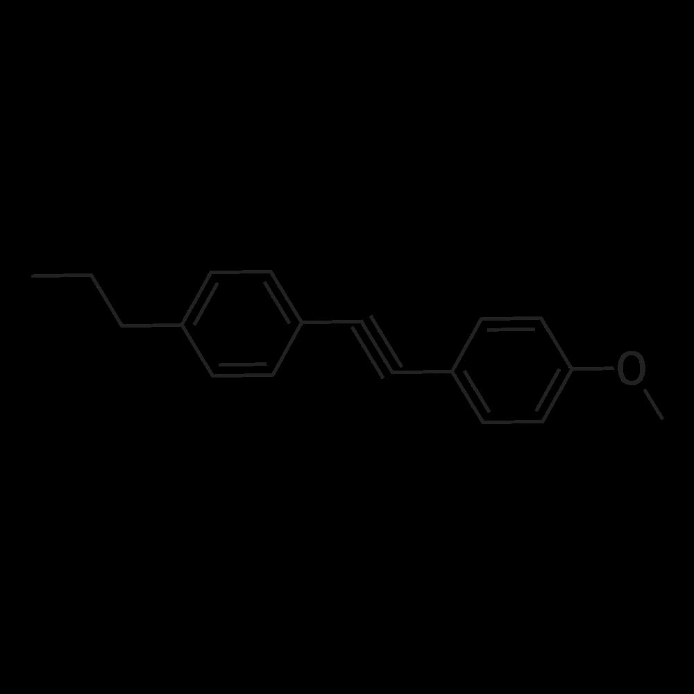 1-Methoxy-4-((4-propylphenyl)ethynyl)benzene