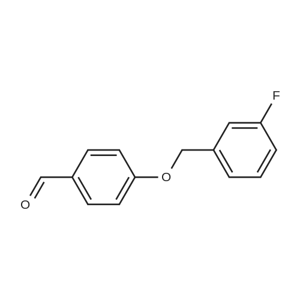 4-((3-Fluorobenzyl)oxy)benzaldehyde