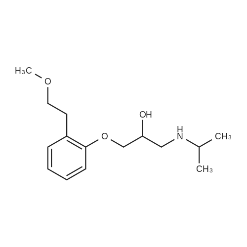1-(Isopropylamino)-3-(2-(2-methoxyethyl)phenoxy)propan-2-ol