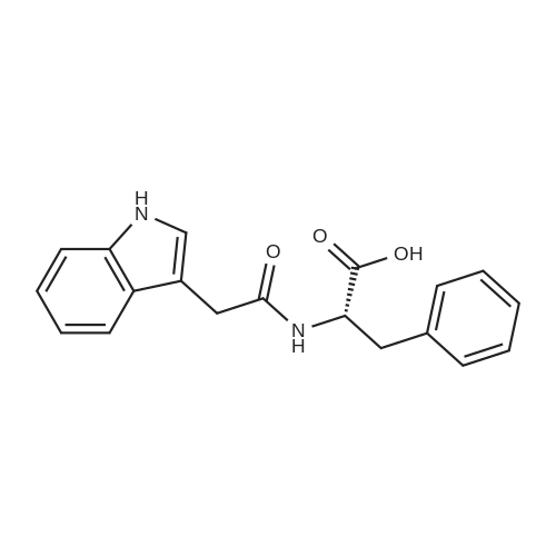 (S)-2-(2-(1H-Indol-3-yl)acetamido)-3-phenylpropanoic acid