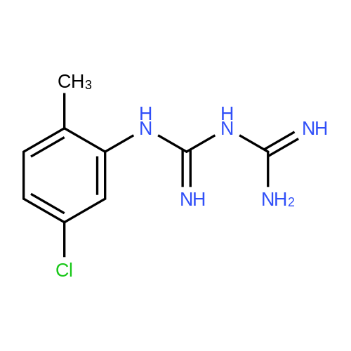 N-(5-Chloro-2-methylphenyl)imidodicarbonimidic diamide