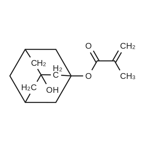 3-Hydroxyadamantan-1-yl methacrylate