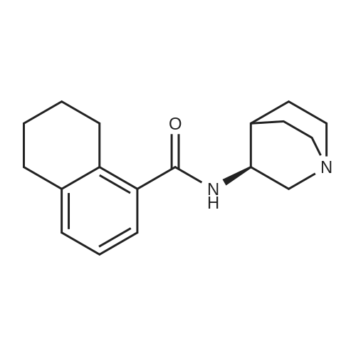 (S)-N-(Quinuclidin-3-yl)-5,6,7,8-tetrahydronaphthalene-1-carboxamide