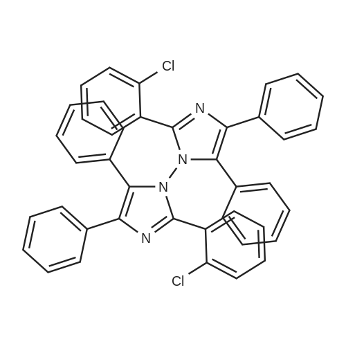 2,2'-Bis(2-chlorophenyl)-4,4',5,5'-tetraphenyl-1,1'-biimidazole