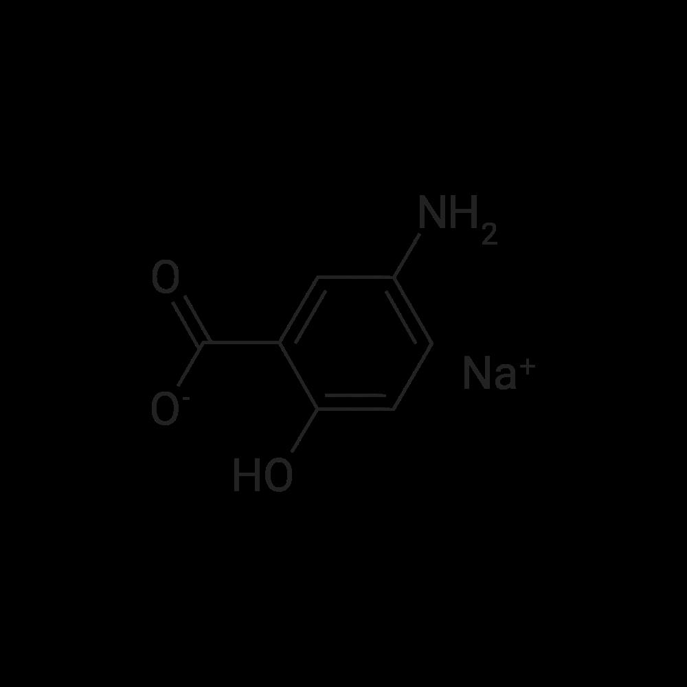 Sodium 5-amino-2-hydroxybenzoate