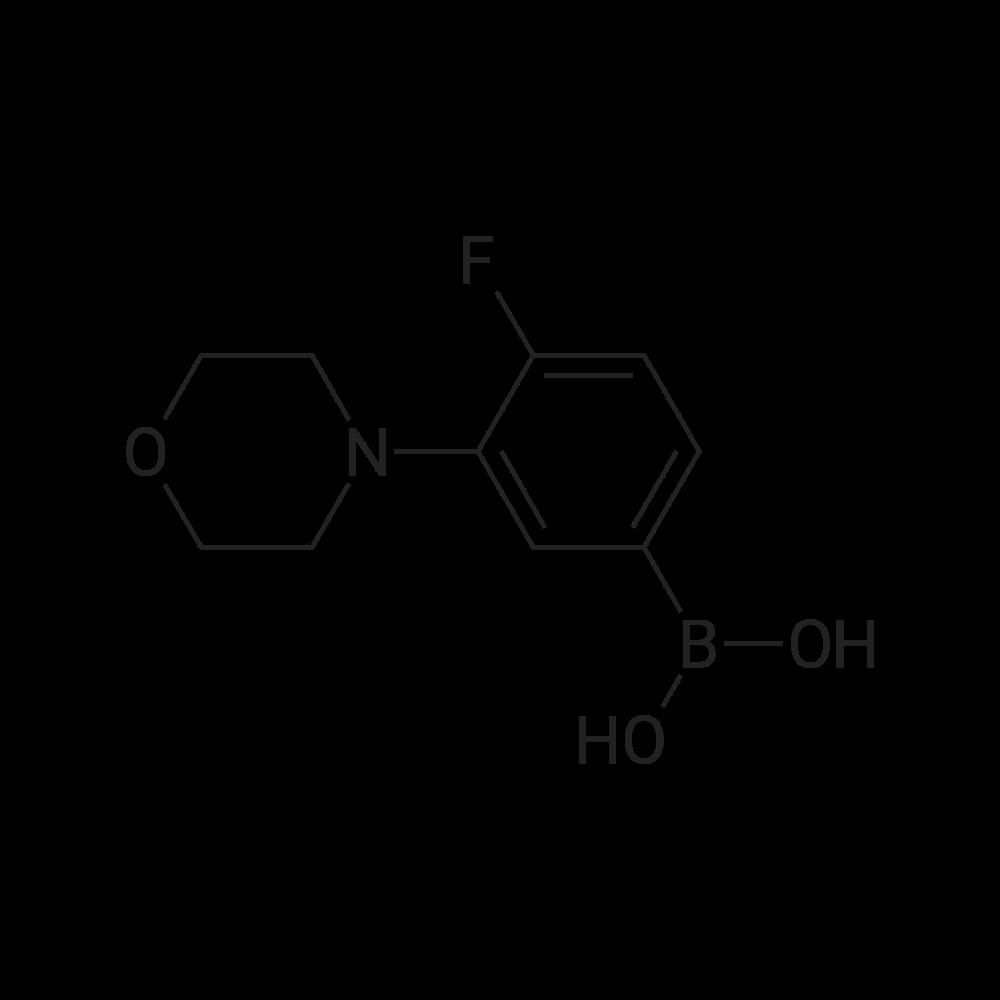 (4-Fluoro-3-morpholinophenyl)boronic acid