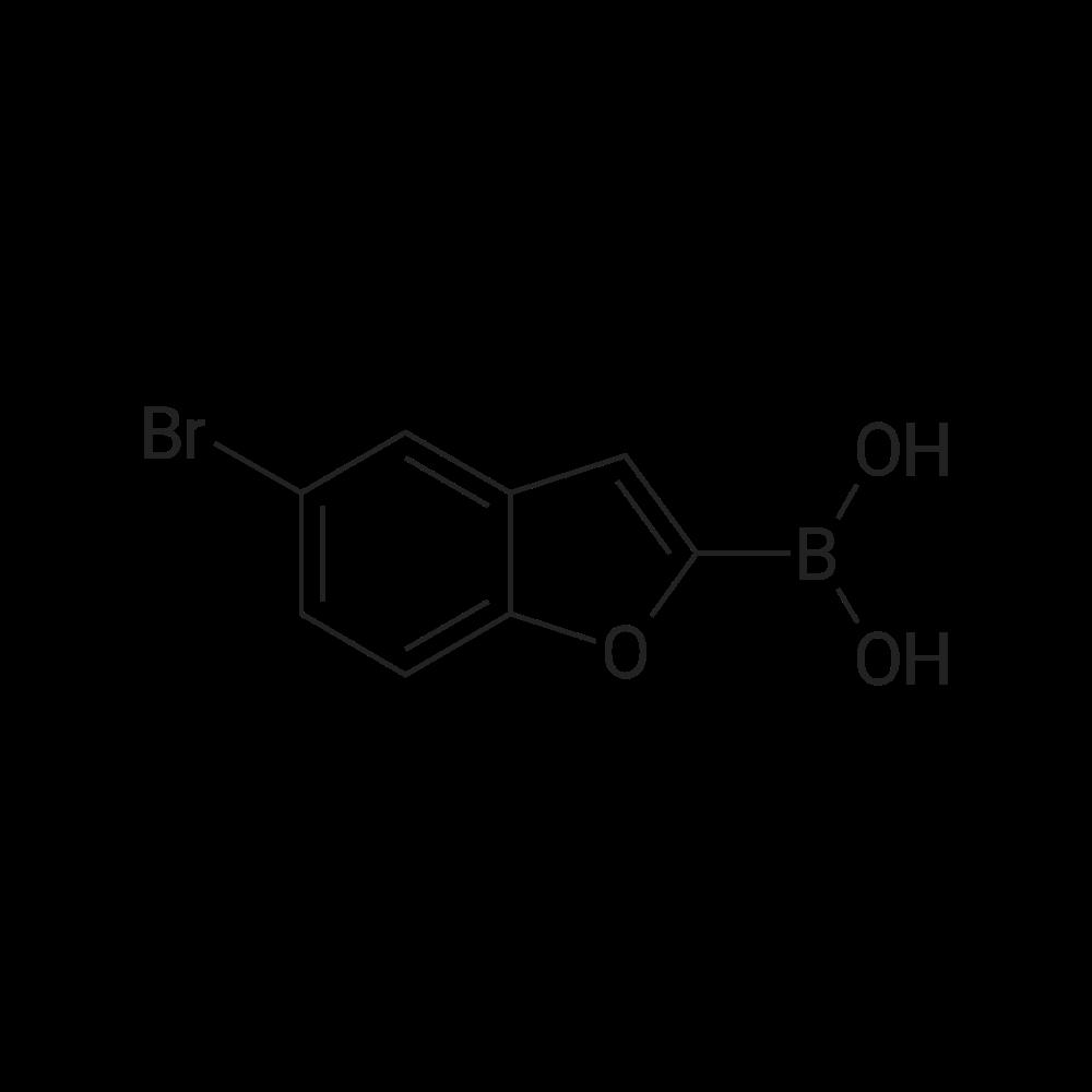 (5-Bromobenzofuran-2-yl)boronic acid