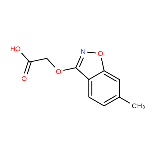 2-((6-Methylbenzo[d]isoxazol-3-yl)oxy)acetic acid