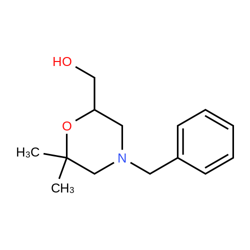 (4-Benzyl-6,6-dimethylmorpholin-2-yl)methanol