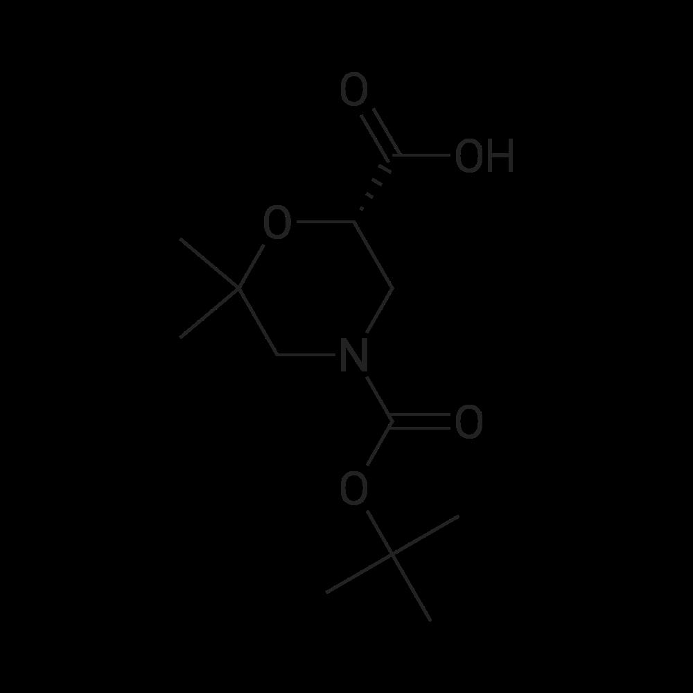(S)-4-(tert-Butoxycarbonyl)-6,6-dimethylmorpholine-2-carboxylic acid