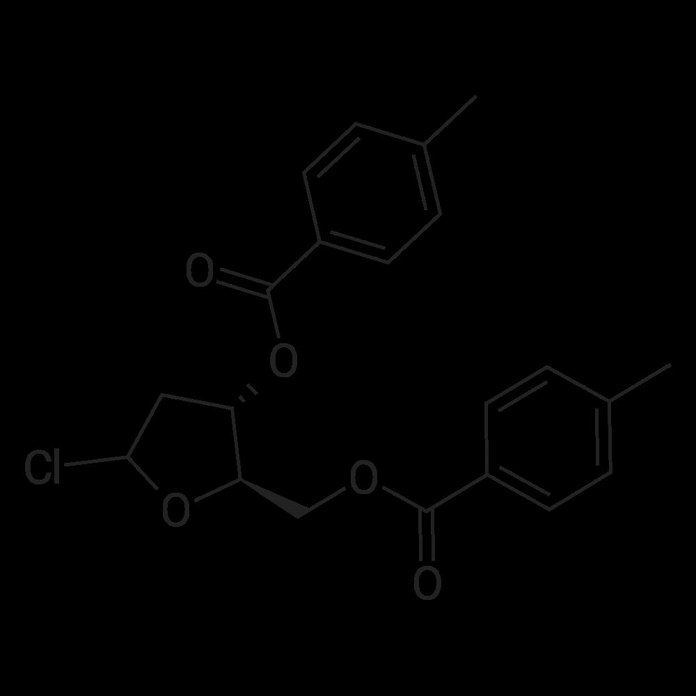 (2R,3S)-5-Chloro-2-(((4-methylbenzoyl)oxy)methyl)tetrahydrofuran-3-yl 4-methylbenzoate