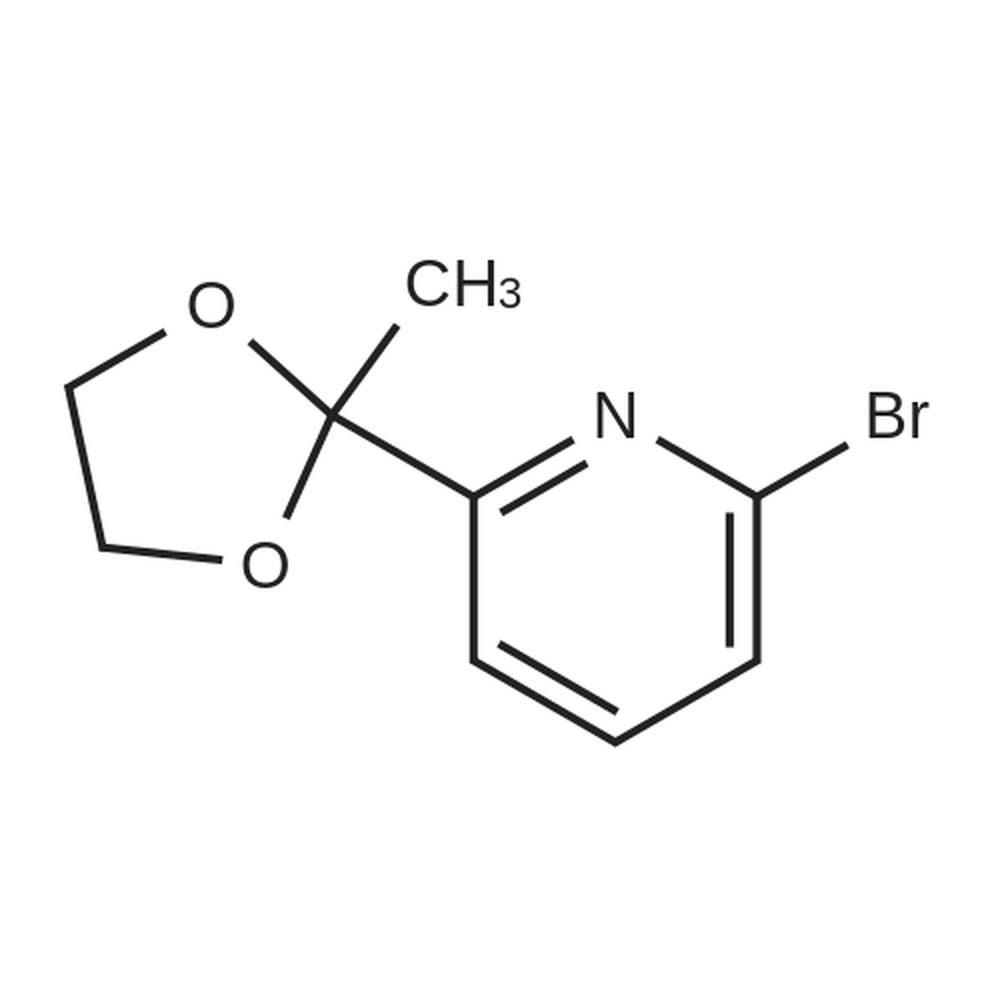 2-Bromo-6-(2-methyl-1,3-dioxolan-2-yl)pyridine