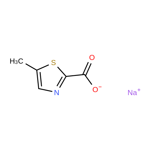 Sodium 5-methylthiazole-2-carboxylate