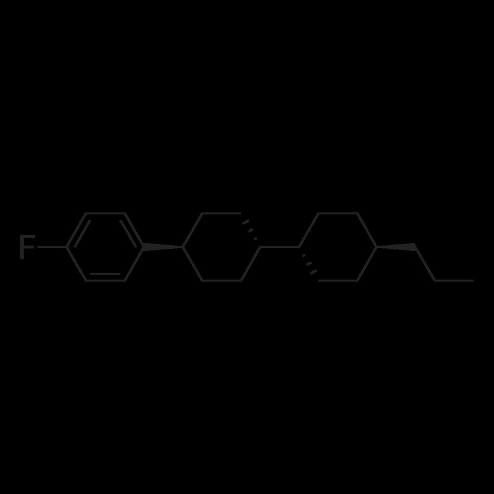 trans-4-(4-Fluorophenyl)-4'-propyl-1,1'-bi(cyclohexane)