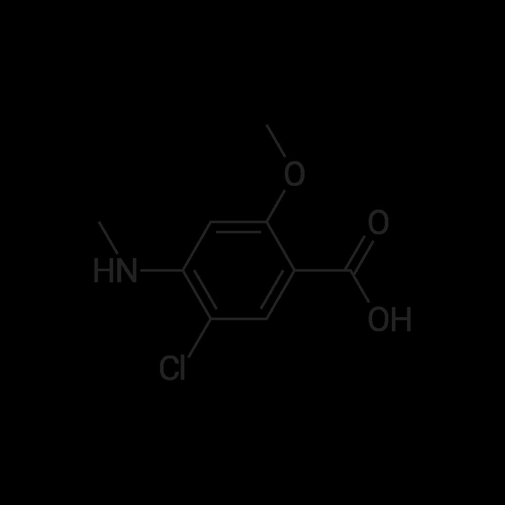 5-Chloro-2-methoxy-4-(methylamino)benzoic acid
