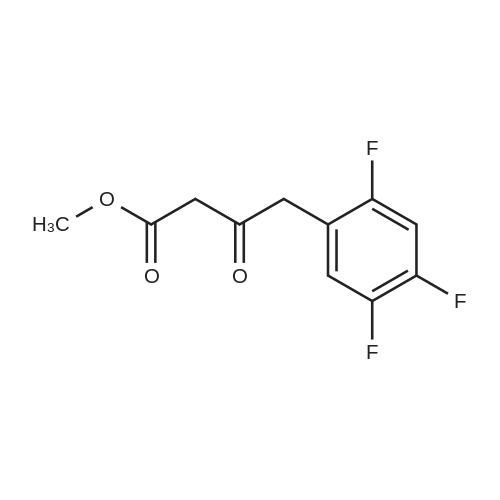 Methyl 3-oxo-4-(2,4,5-trifluorophenyl)butanoate