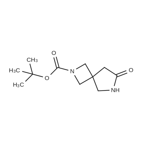 tert-Butyl 7-oxo-2,6-diazaspiro[3.4]octane-2-carboxylate