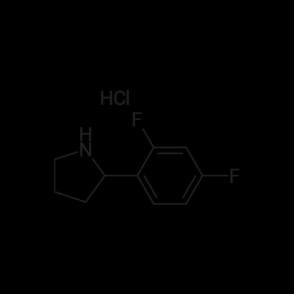 2-(2,4-Difluorophenyl)pyrrolidine hydrochloride