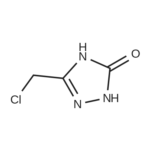 3-(Chloromethyl)-1H-1,2,4-triazol-5(4H)-one