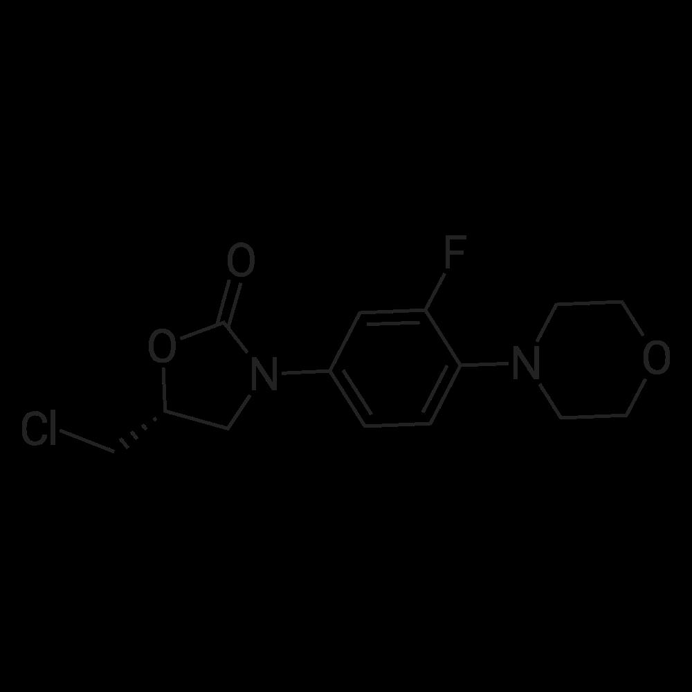 (R)-5-(Chloromethyl)-3-(3-fluoro-4-morpholinophenyl)oxazolidin-2-one