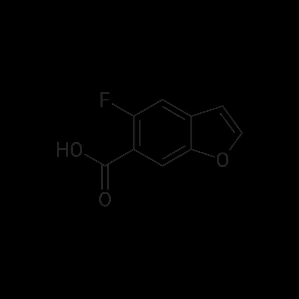 5-Fluorobenzofuran-6-carboxylic acid