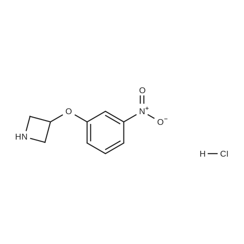 3-(3-Nitrophenoxy)azetidine hydrochloride